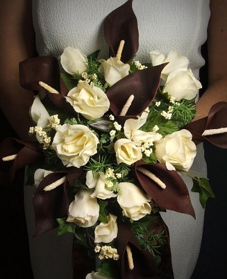 Chocolate Wedding Bouquets